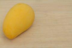 Yellow Mango. On woods board, Thailand Royalty Free Stock Image
