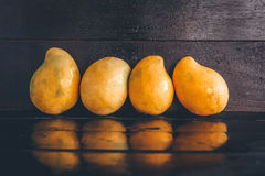 Yellow Mangoes Royalty Free Stock Images