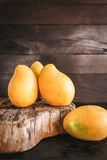 Yellow Mangoes Royalty Free Stock Image
