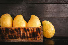 Yellow Mangoes Royalty Free Stock Photo
