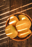 Yellow Mangoes Royalty Free Stock Photos