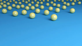 Yellow Marbles Background top Border Stock Images