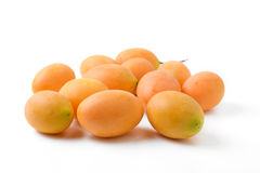 Yellow marian plum fruit Stock Image