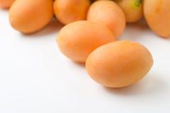 Yellow marian plum fruit Royalty Free Stock Photos