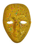Yellow mask Royalty Free Stock Image