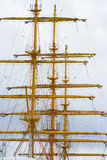 Yellow mast stock images