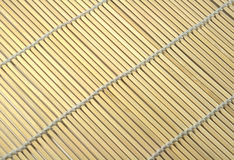 Yellow mat. Closeup background with diagonal lines Stock Photo