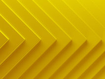 Yellow material background. can be. Used for web design, wallpaper, modern design, banner and mobile application. 3D illustration Stock Photos
