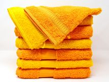 Yellow, Material, Textile, Towel Royalty Free Stock Images