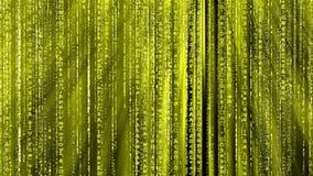 Yellow Matrix background