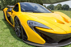 Yellow McLaren Front Side Royalty Free Stock Image