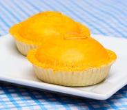 Yellow meat pie Royalty Free Stock Photos