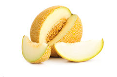 Yellow Melon Stock Photos