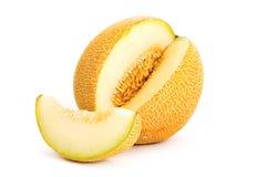 Yellow melon Royalty Free Stock Photography