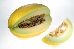 Yellow melon Royalty Free Stock Image