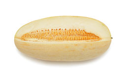 Yellow melon, isolated Stock Image