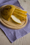 Yellow melon rich in vitamins Stock Image