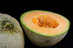 Yellow Melon Stock Photography