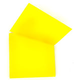 Yellow memo stick. paper note Stock Photography