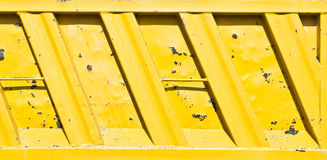 Yellow metal Royalty Free Stock Photo