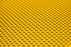 Yellow metal grille Royalty Free Stock Photo