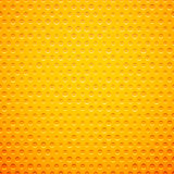 Yellow metal or plastic texture with holes Royalty Free Stock Photos