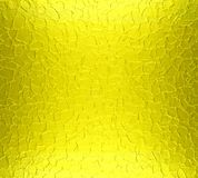Yellow metal plate texture background Stock Photos