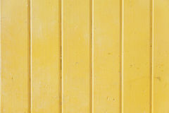 Yellow metal wall Royalty Free Stock Photo