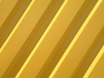Yellow metalic surface Royalty Free Stock Images