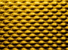 Yellow Metallic Background Stock Photos
