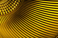 Yellow metallic texture Royalty Free Stock Photos