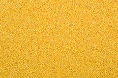 Yellow millet grains in the bulk Stock Photos