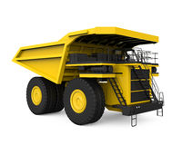 Yellow Mining Truck Royalty Free Stock Photography