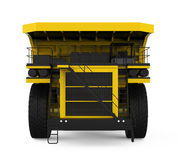 Yellow Mining Truck Stock Photos