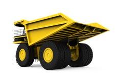 Yellow Mining Truck Royalty Free Stock Image