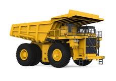 Yellow Mining Truck Stock Photography
