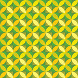 Yellow modern geometrical abstract Stock Photography
