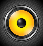 Yellow Modern Speaker Stock Photos