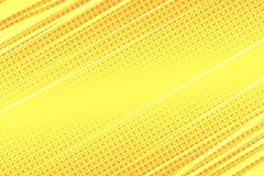 Yellow modern stripe dynamics background. Pop art retro vector illustration Royalty Free Stock Images