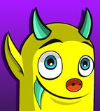 Yellow monster(120).jpg Stock Photography