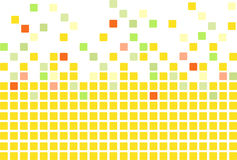 Yellow mosaic Royalty Free Stock Photos