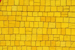 Yellow mosaic Royalty Free Stock Photography