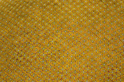 Yellow mosaic Background Stock Photography
