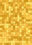 Yellow mosaic background Royalty Free Stock Photos