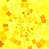 Yellow Mosaic Background Stock Image