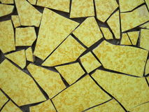 Yellow mosaic Royalty Free Stock Image