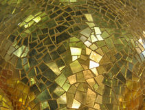 Yellow mosaic tiles. Useful as a background royalty free stock photos