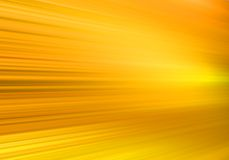 Yellow motion. Warm and energetic Stock Photography