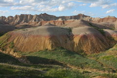 Yellow Mounds Stock Photography