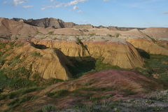 Yellow Mounds Stock Image